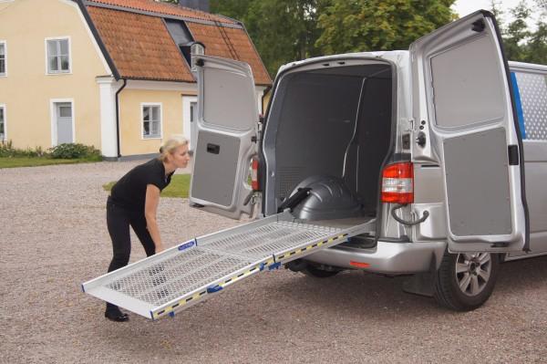 BGR 2-teilige Fahrzeugrampe Breite 80 cm